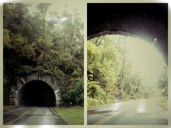 Wild Acres Tunnel. Blue Ridge Parkway. North Carolina