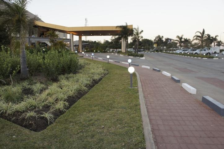 Dusk in Lusaka