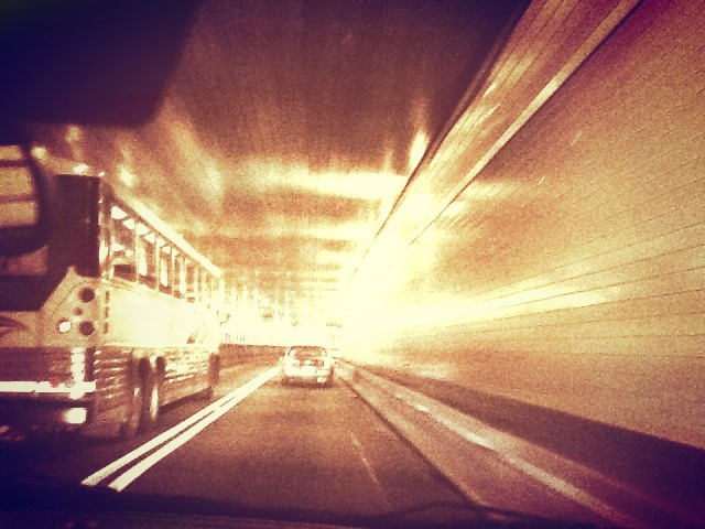 Lincoln Tunnel. Runs on 1-495. Opened 1937.