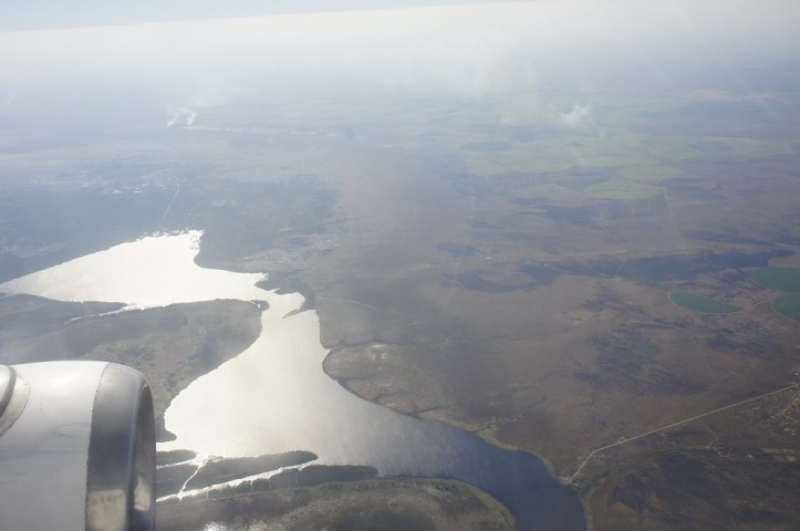 Flying Over Zambia