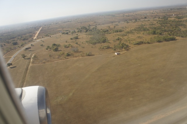 Landing in Lusaka