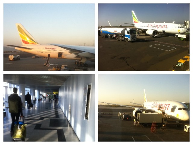 Arriving in Ethiopia