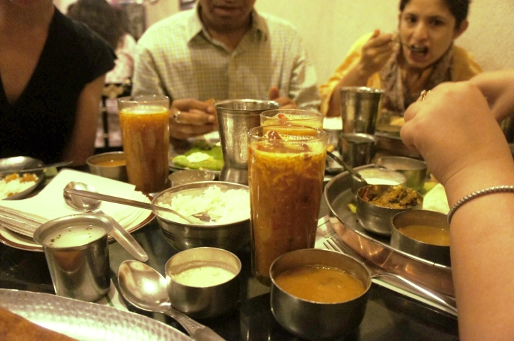 Eating South India Food in Delhi