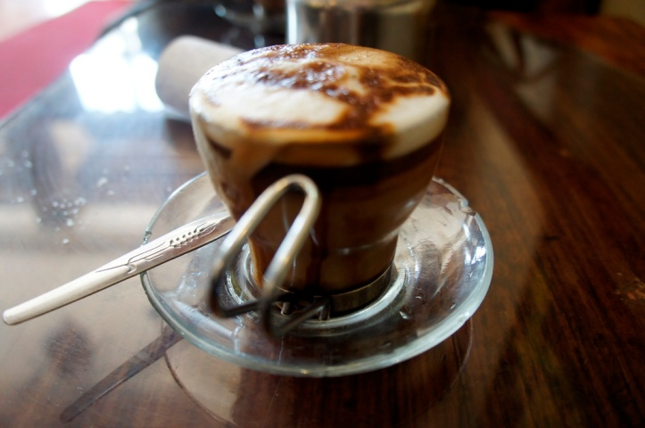 Double Macchiato at Coffee House, Addis