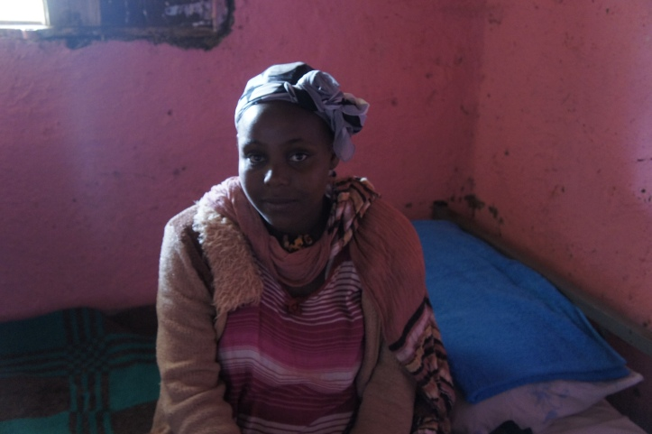 Young expectant mother in Butajira, Ethiopia.