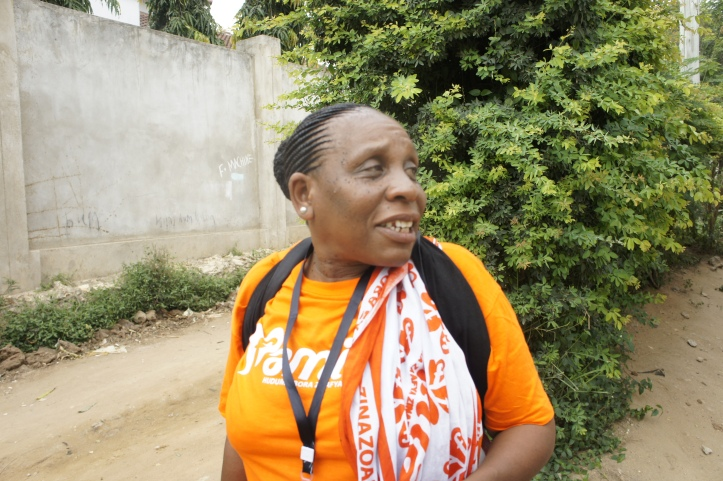 Blandina Mpacha, PSI Family Planning Worker