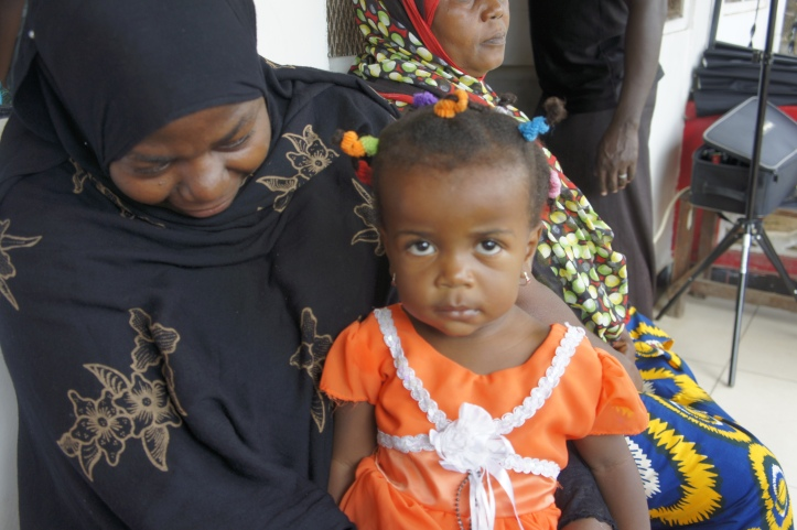 A Mother Who Took Her Daughter to a Dar es Salaam Dispensary
