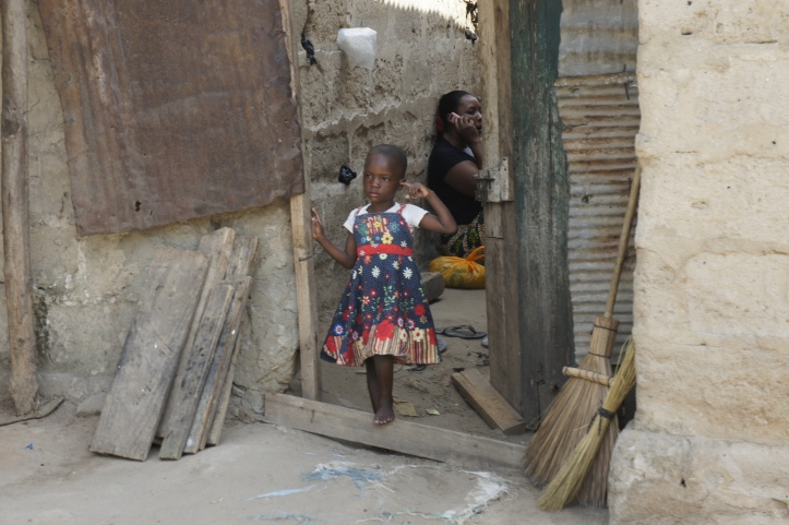 A Girl I Saw As a Walked Through Her Community in Dar es Salaam