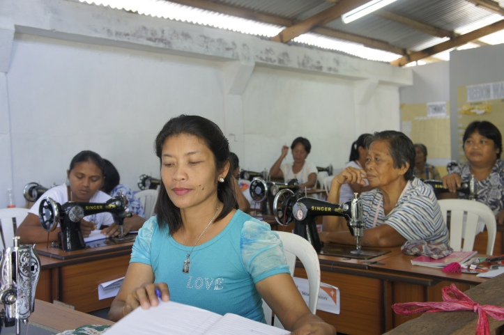 A Women's Collective in Dulag, Philippines. It helps them become self-sufficient with a new income.
