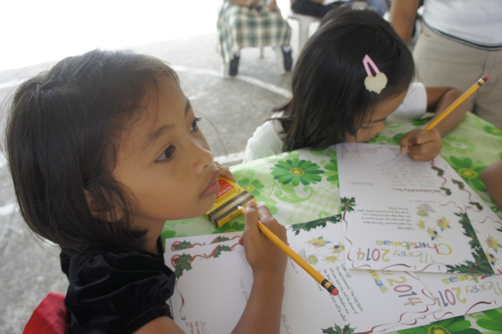 World Vision Sponsored Children in Dulag, Philippines