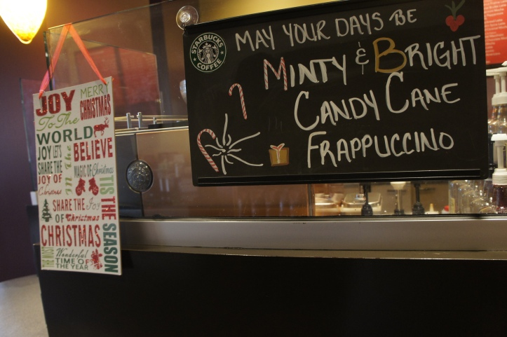 Christmas Cheer Starbucks Style