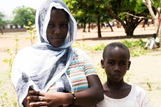 Constantine Michael, 10, heard the announcement in his village for voluntary medical male circumcision and asked his older sister, Rosalea Michael, 19, to take him to IntraHealth's mobile clinic. She did. Shinyanga, Tanzania field#.VIyruYvF9SI