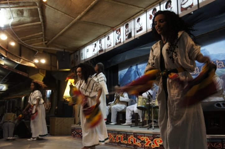 Women Dancers at Yod Abyssinia In Addis