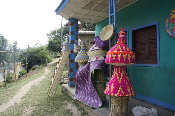 Basketweavers  - right outside Hawassa, Ethiopia